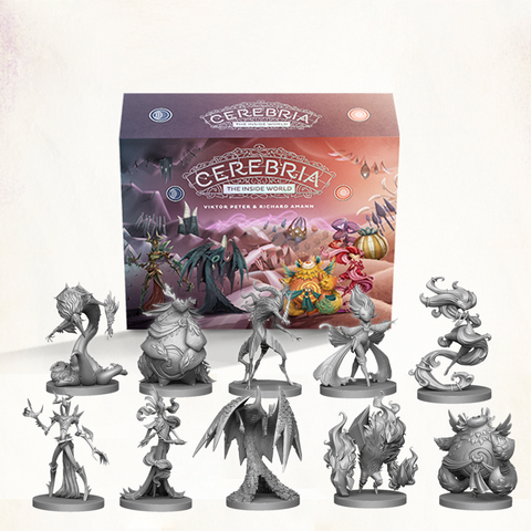 Cerebria - Pre-Order Bundle (Base Game + Forces of Balance Expansion)
