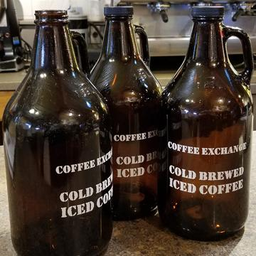 Coffee Exchange Growler