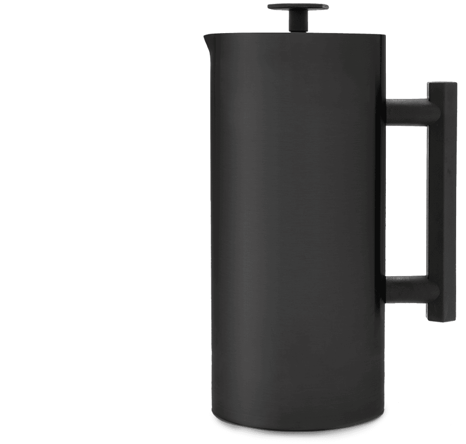 ESPRO P6 French Press - matte black stainless steel