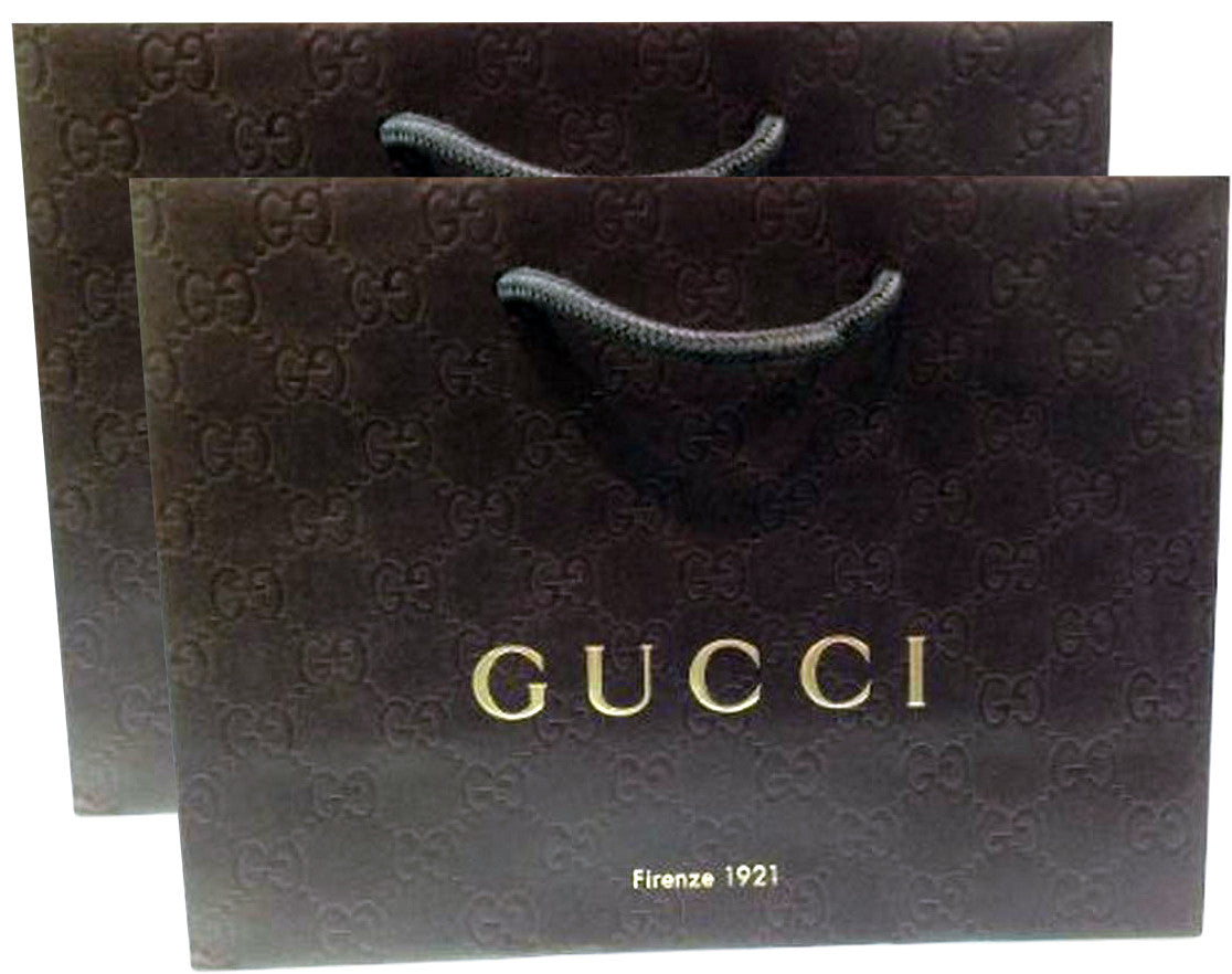 Gucci Paper Shopping Bags