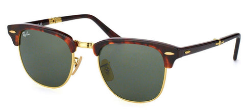 Ray Ban RB2176 Folding Clubmaster Sunglasses