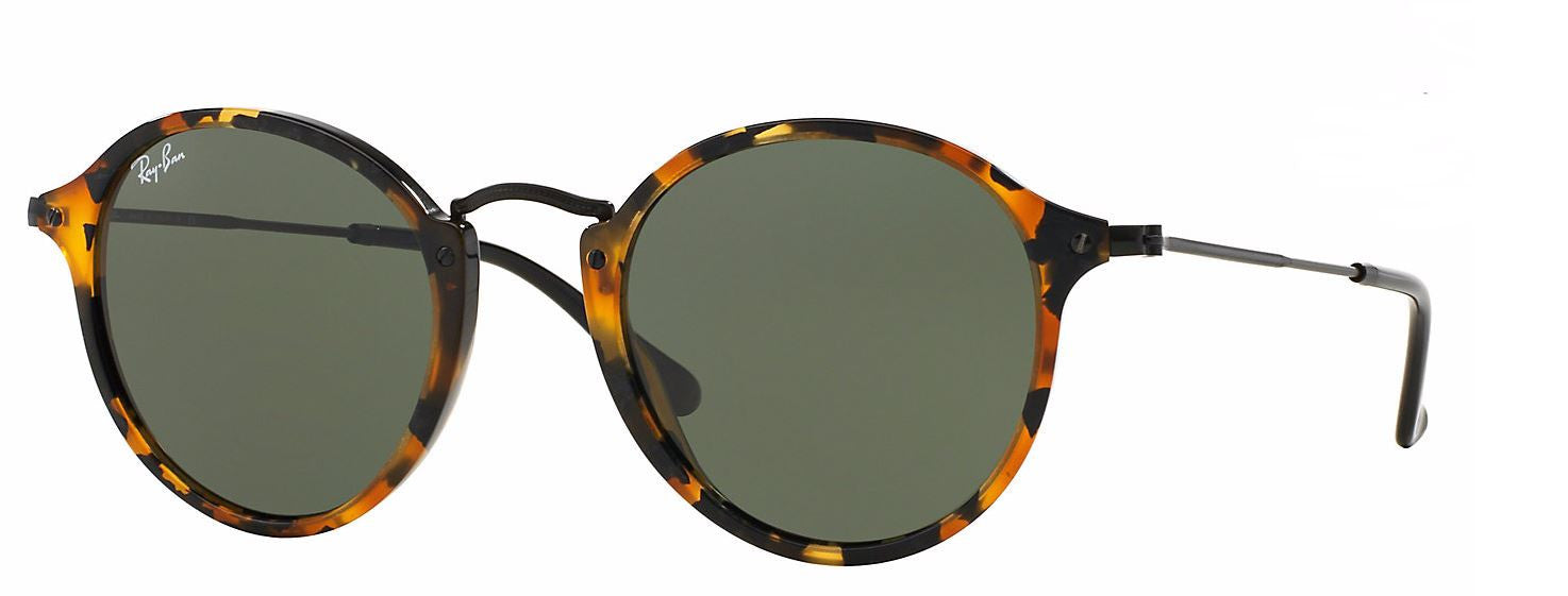 Ray Ban RB2447 Round Fleck Sunglasses