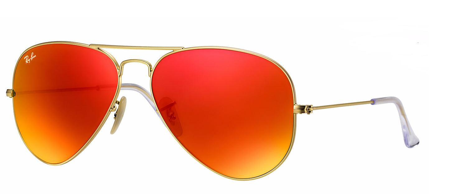 Ray-Ban RB3025 Aviator Large Metal Sunglasses