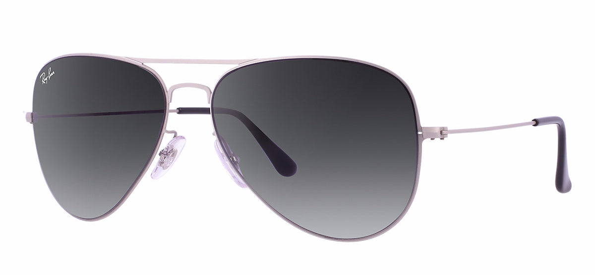 Ray-Ban RB3513 Flat Metal Aviator Sunglasses