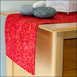 Fantasia Red Table Runner by ColorUpLife