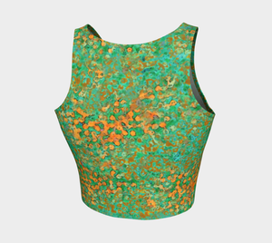Crop Top - Coral Reef