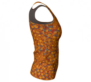 fitted tank - copper - be square style - side view - ColorUpLife