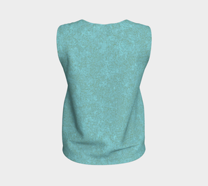 Loose Tank Top - Zen - Smokey Teal
