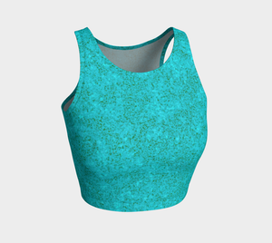 Crop Top - Zen - Light Teal