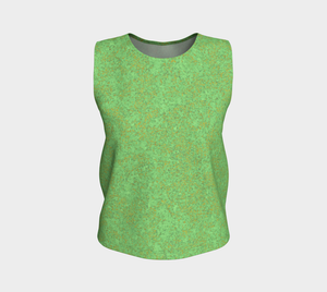Loose Tank Top - Zen - Green and Bronze
