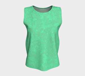 Loose Tank Top - Zen - Reef Green