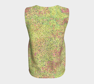 Loose Tank Top - Sweet Pea - Chartreuse