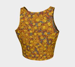 Crop Top - Be Square - Mustard