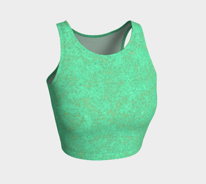 Crop Top - Zen - Reef Green