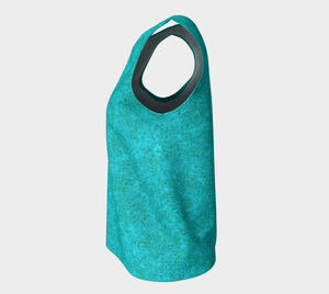 Loose Tank Top - Zen -- Light Teal