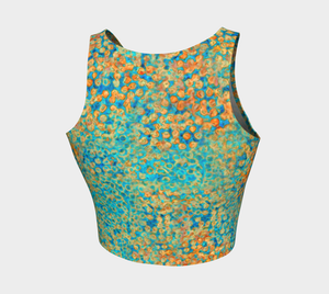 Crop Top - Sweet Pea - Turquoise