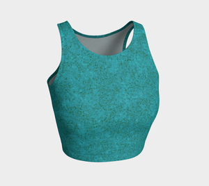 Crop Top - Zen - Dark Teal