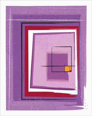 Block Series 2 ~ Purple