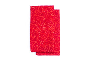 Cloth Napkins - Cherry Red - Set of 2