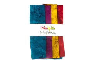 Party Napkins - Watercolor Fiesta - Set of 4