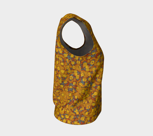 Loose Tank Top - Be Square - Mustard