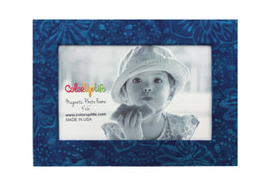 Blue Magnetic Picture Frame by ColorUpLife