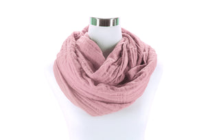 Blush Infinity Scarf by ColorUpLife