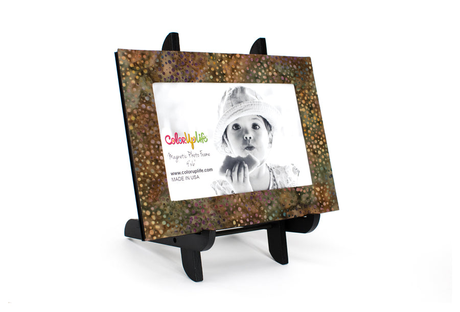 magnetic photo frame - brown - ColorUpLife