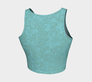 Crop Top - Zen - Smokey Teal
