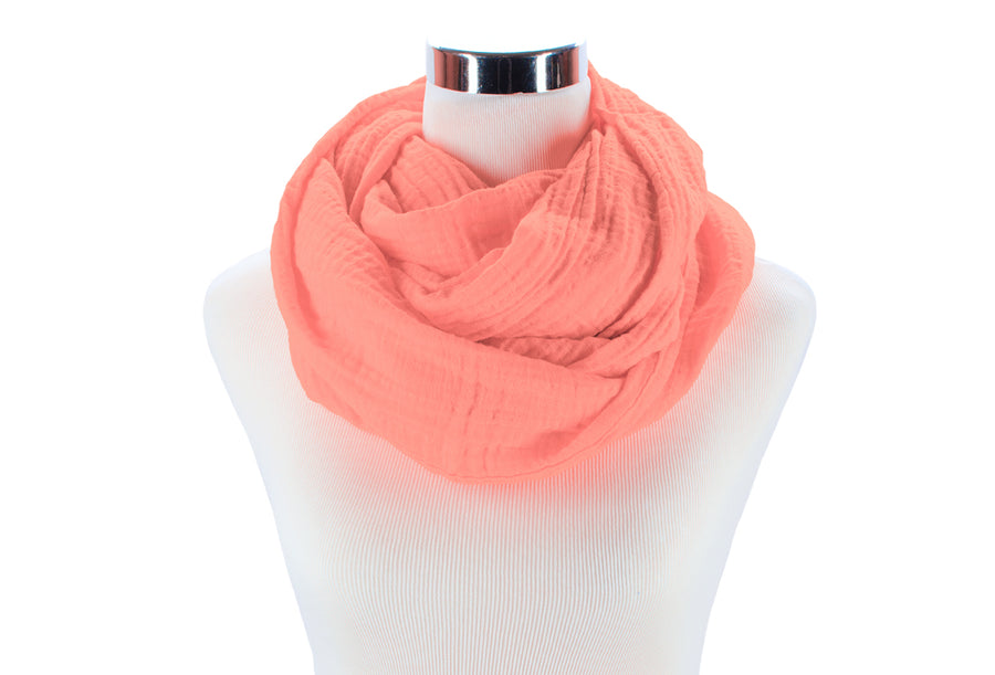 Infinity Scarf - Coral