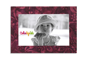 Magnetic Picture Frame - Deep Plum