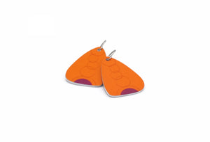 Orange Eva Earrings by ColorUpLife