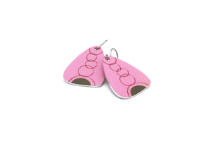 Pink Eva Earrings by ColorUpLife