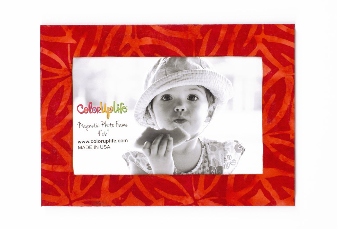 magnetic photo frame – fantasia red – ColorUpLife