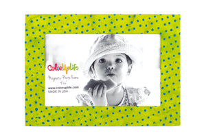 Lime Magnetic Photo Frame by ColorUpLife