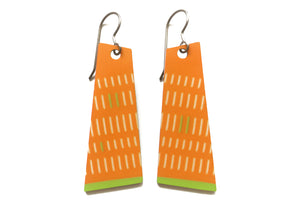 juliette earrings - orange - ColorUpLife
