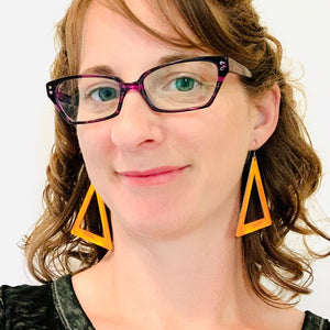 Yellow Jemma Earrings by ColorUpLife
