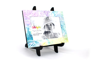 magnetic photo frame with display easel – leaves – ColorUpLife