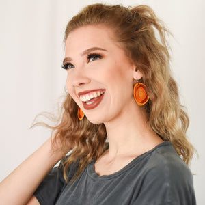 Brown Maisie Earrings by ColorUpLife