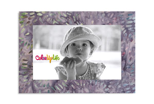 Magnetic Picture Frame - Light Purple Splash - ColorUpLife