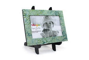 Mint Green Magnetic Picture Frame Displayed on a Decorative Easel by ColorUpLife