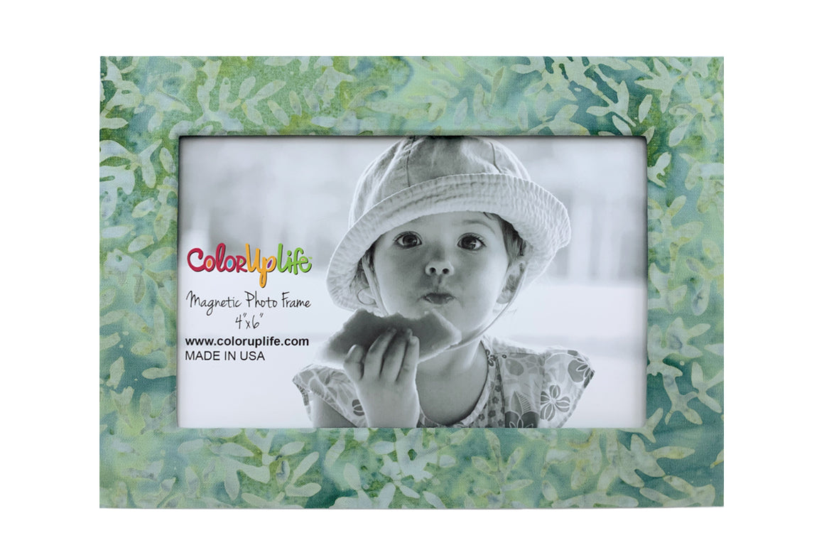 Mint Green Magnetic Picture Frame by ColorUpLife
