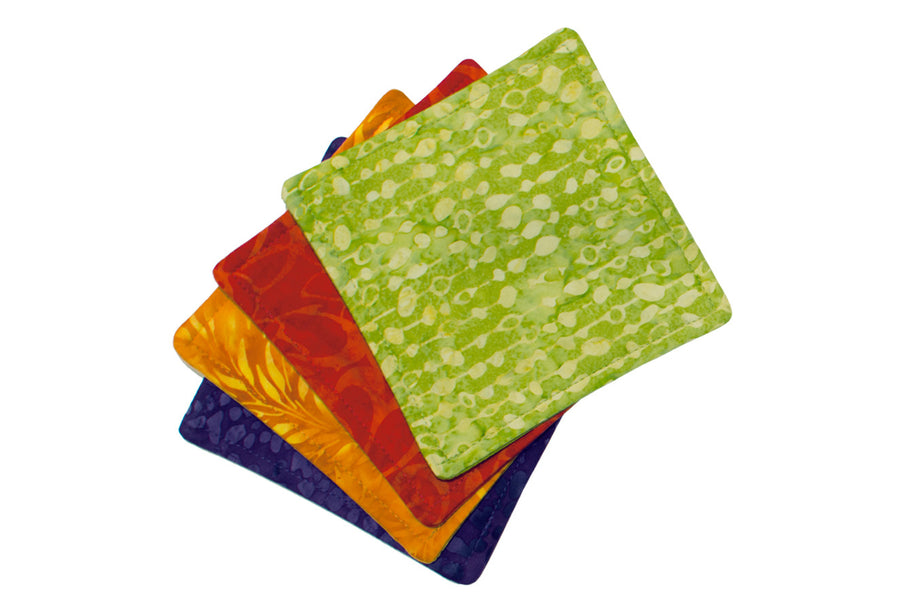 Batik Mug Mats - Multi Color Set