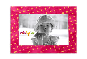 Magnetic Picture Frame - Party Pink