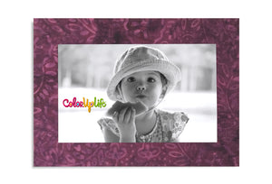 Magnetic Picture Frame - Pleasantly Plum