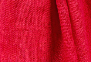 bamboo scarf fabric swatch - red - ColorUpLife