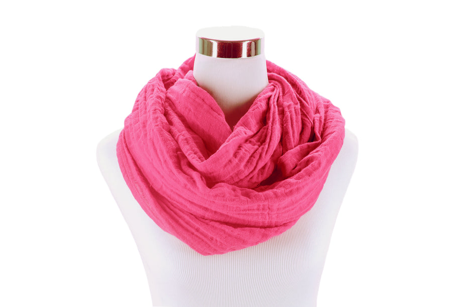 Rose Infinity Scarf by ColorUpLife