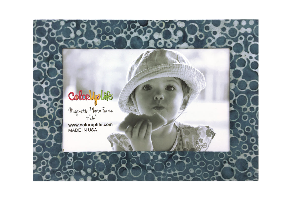 magnetic photo frame - slate gray - ColorUpLife