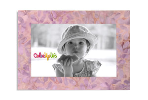 Sweet Lavender Magnetic Picture Frame by ColorUpLife