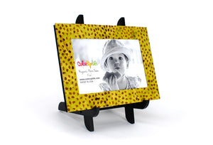 magnetic photo frame with display easel – golden – ColorUpLife